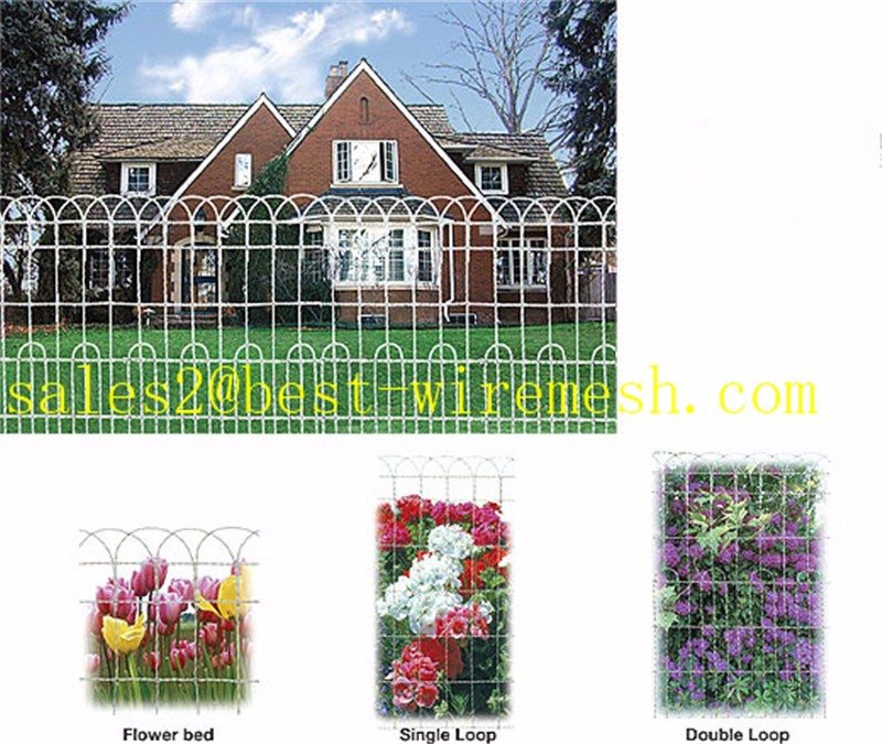Historic Montford Style Double Loop Wire Fencetraditional Double