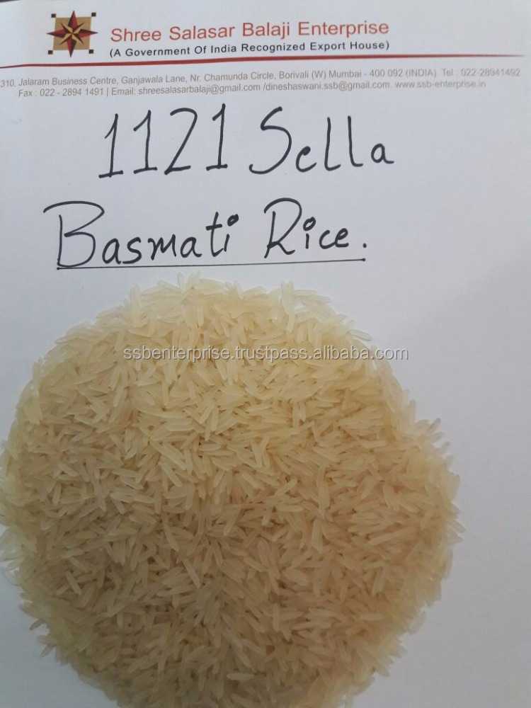 Premium Quality of 1121 Sella Basmati White Rice for exports only