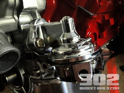 How To Install a Fuel Pump on a Small Block Ford 302 | Holley Mechanical Fuel Pump