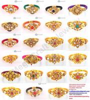 New fashion bracelets-Bollywood kundan polki bracelets -Indian ethnic bangles-Wholesale One gram gold bangles online
