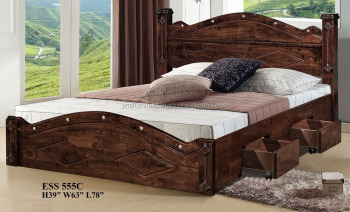 Superbe Wood Double Bed Designs With Box Ess 555c   Buy Wood Double Bed Designs  With Box,Double Box Bed,Wooden Box Bed Design Product On Alibaba.com