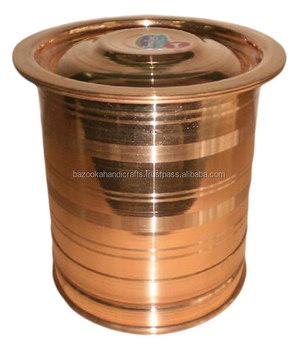 Copper Storage Drum, Stainless Steel Water Storage Drum, Decorative Storage  Drum