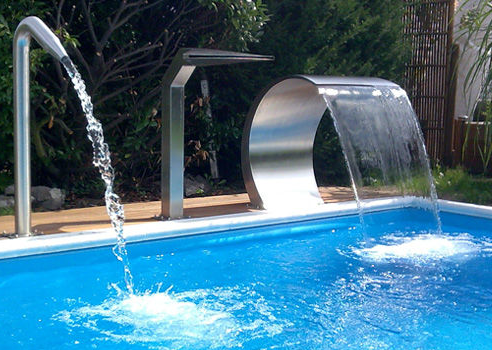 Stainless Steel Artificial Waterfall Swimming Pool Spout For Home Garden  Decoration - Buy Swimming Pool Spout,Artificial Waterfalls,Swimming Pool ...