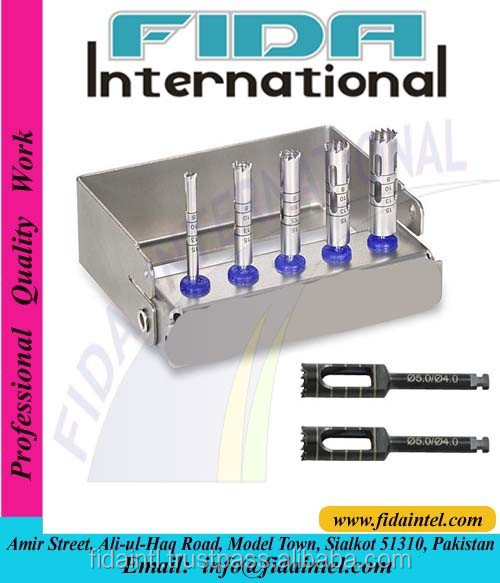 Dental Trephine Drill Dental Implant Trephine Bur Dental Trephine Drill