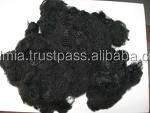 Recycled 1.5D38mm polyester staple fiber black with Great Low Price & Best Quality!