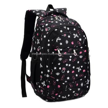 b1c7980b0c0f BLACK SCHOOL BAG NEW MODEL COLLAGE BAG SCHOOL STYLING BAG CUSTOM LOGO HIGH  QUALITY