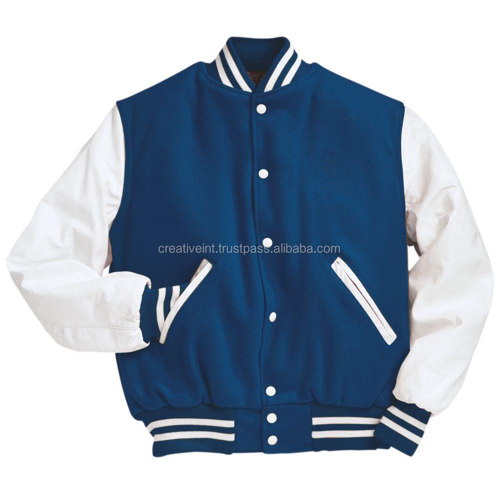 Latest Fashion Dress Design Varsity Bomber Jacket\crop Varsity  Jacket\wholesale - Buy Varsity Jacket,Crop Varsity Jacket,Plain Varsity  Jacket Product