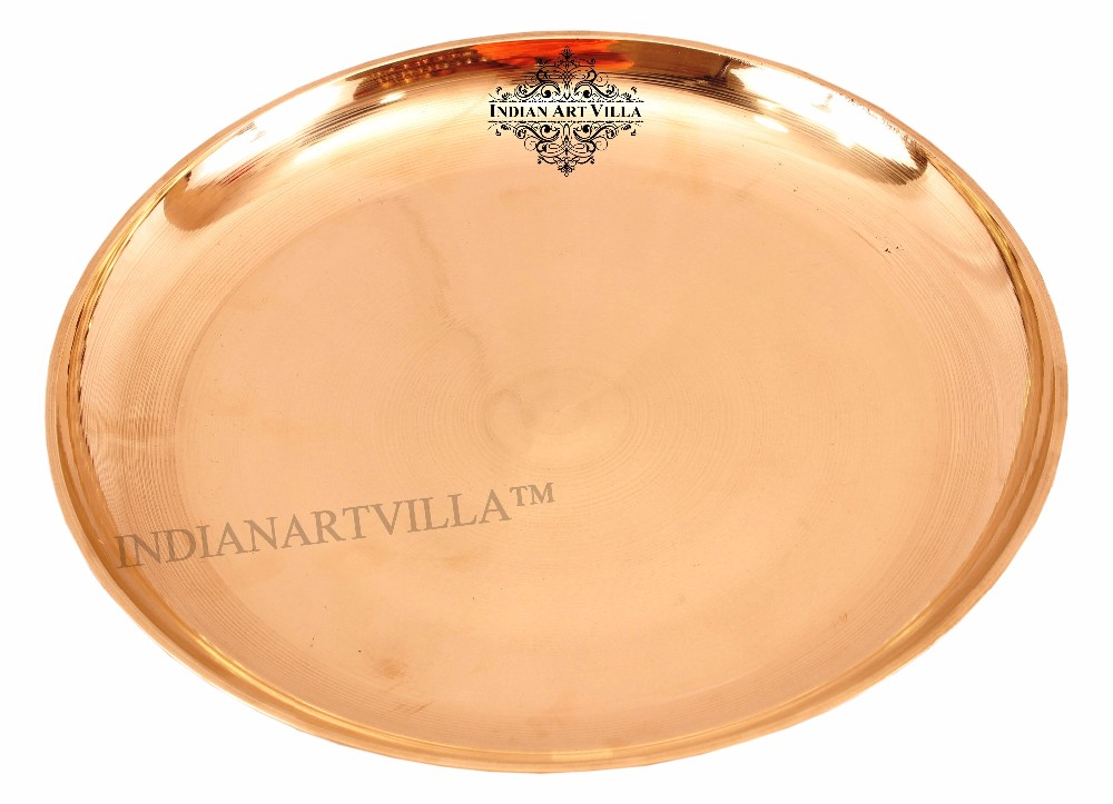 Indianartvilla Bronze Serving Plate Hotel Amp Home Kitchen