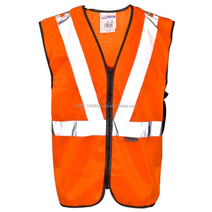 High Visibility Vest/Safety Vest, High-Visibility Reflective workwear Vests