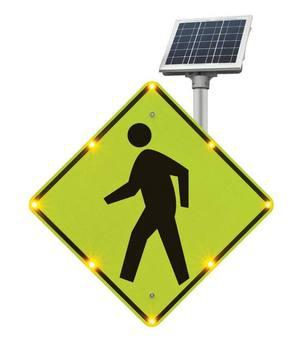 Blinkersign Flashing Led Pedestrian Crossing Sign Buy