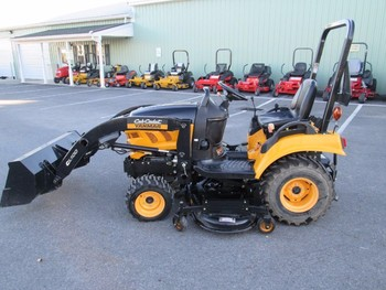 used cub cadet yanmar sc2400 tractor loader mower 4x4 hst diesel used subcompact 138 hours on. Black Bedroom Furniture Sets. Home Design Ideas