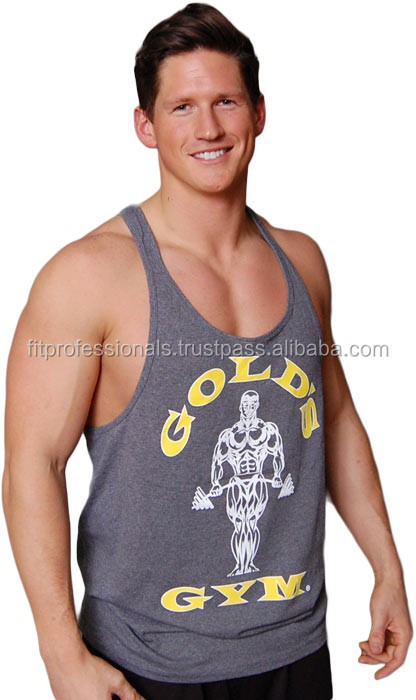 793a4a442a0faf wholesale custom 100% cotton golds gym bodybuilding men stringer tank tops