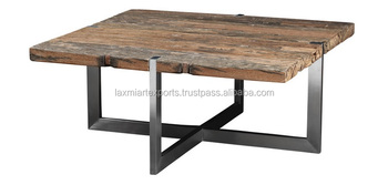 Coffee Table End Design Iron Metal Leg With Wooden Top Manufacturer Whole Supplier Square Legs