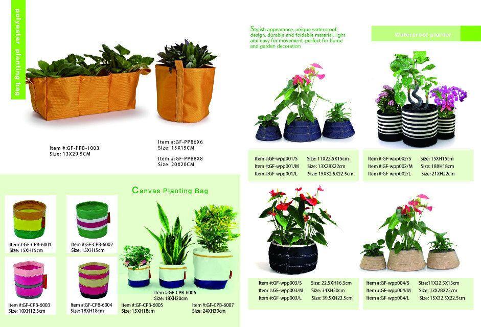 Jute Tomato Home Yard Vegetable Grow Bag Round Planter Burlap