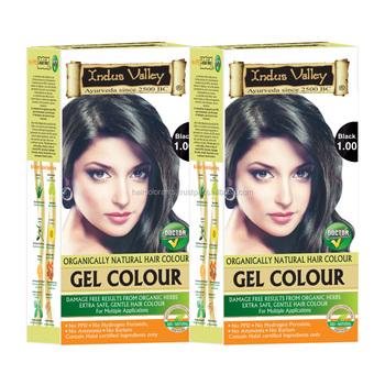 Indus Valley Natural Gel Black Hair Color - Buy Indus Valley Natural ...