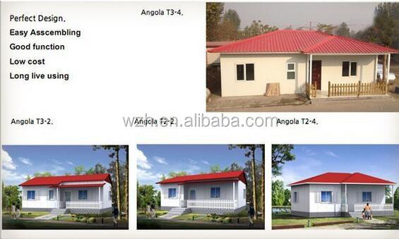 Elegant Prefab House South America / Low Cost Modular 50m2 Prefab House Plan