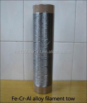Metal Fiber Twist Thread/tow,Antistatic Brush,High Temperature Resistant  Sewing Thread,Signal Transmission Line - Buy Metal Fiber Twist Tow/thread