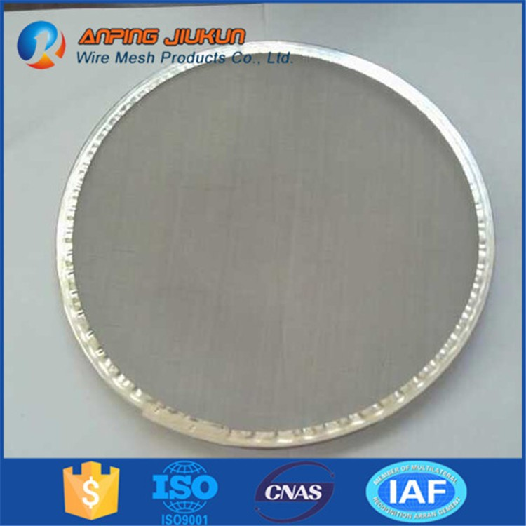 Brand New 6 Micron Round Screen Filter Mesh Disc Stainless Steel ...