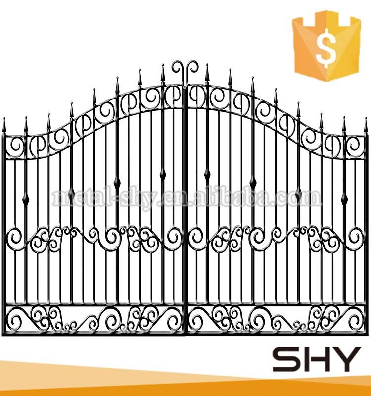 indian open driveway gate. Swing Open Style and Automatic Opening Pattern Retractable Driveway Gates And