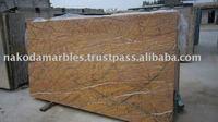 Golden Red Marble Tile