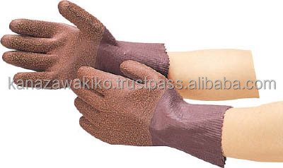 Trusco Natural Rubber Work Seamless Gloves (lined) Dpm2368