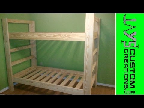 Twin Over Twin Bunk Bed - 023