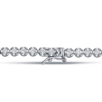 231516132855 Blanco Diamante Pulsera En 14 K Oro Blanco En El Precio Al Por Mayor ...