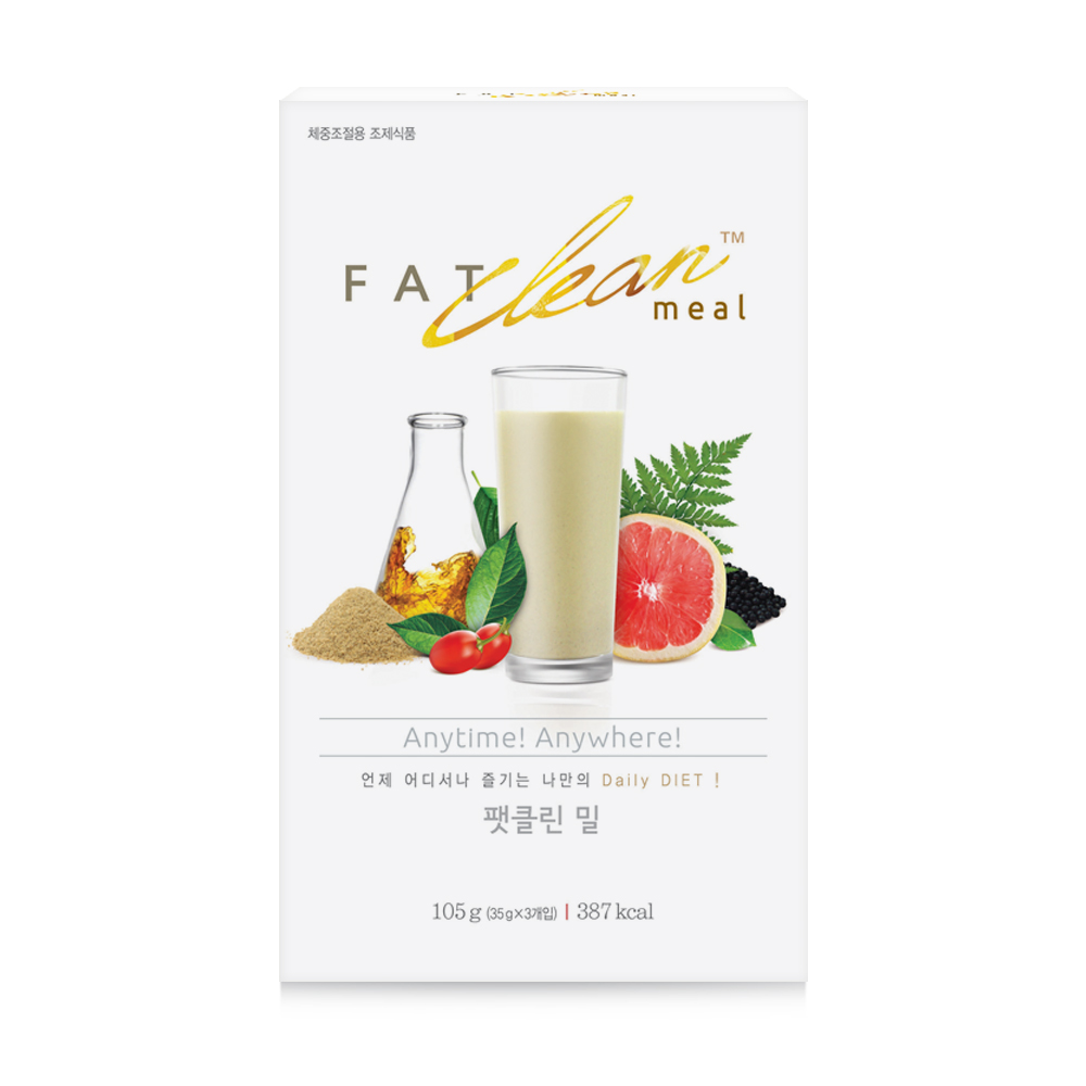 Fat Clean Meal (35g x 3ea) Mineral Bitamin Weight Loss Younger Healthy Imorove Skin Body Care Daily Best