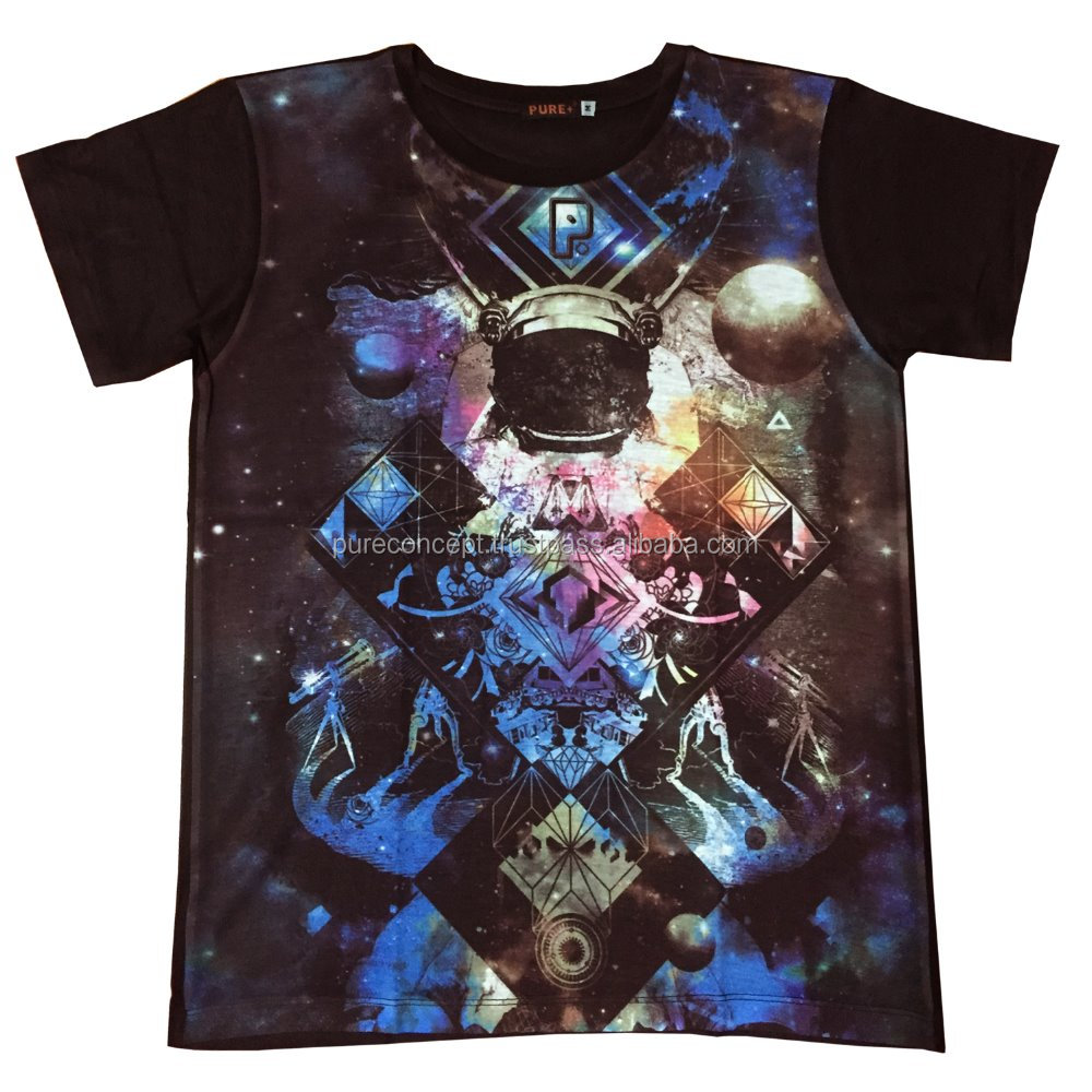 Pure Concept Bangkok Galaxy Custom Printed Wholesale T Shirt Buy