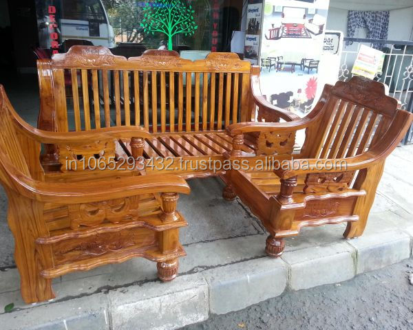 Teak wood furniture sofa set pixshark images