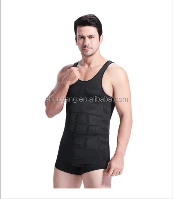 0bbde0a666 Wholesale slimming tummy men body shaper vest