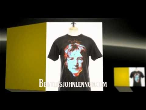 The Beatles John Lennon Tee Shirts and Beatles Shirts