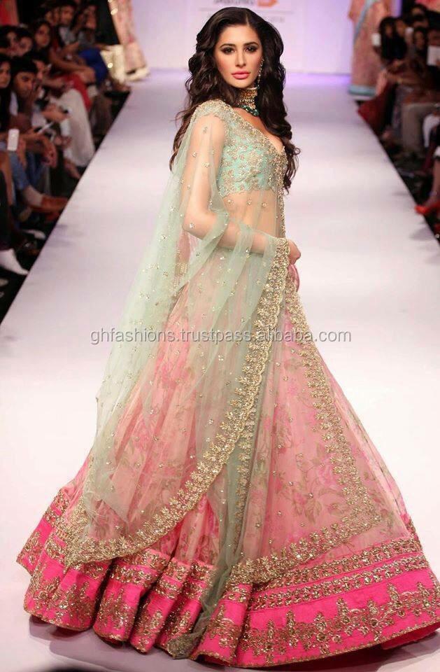 Designer Bridal Indo-western Lehenga Choli 2016-2017 - Buy Designer ...