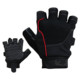 cut fingers sport weight lifting gym fitness gloves
