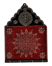 Wooden Key Holder Indian Hand Craved Home Decoration Handicrafts House Warming Gift Items