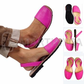 low priced 287d3 b326b Echtes Leder Sandalen Pink Mmartinyca Avarca Spanisch Sandale - Buy  Sandalen Schuhe Frauen,Handgemachte Leder Sandalen Ledersandalen Frauen  Product on ...