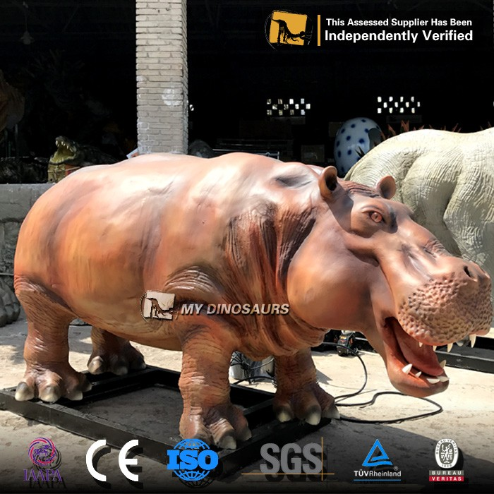 My-dino kids playground animal animations vivid hippo