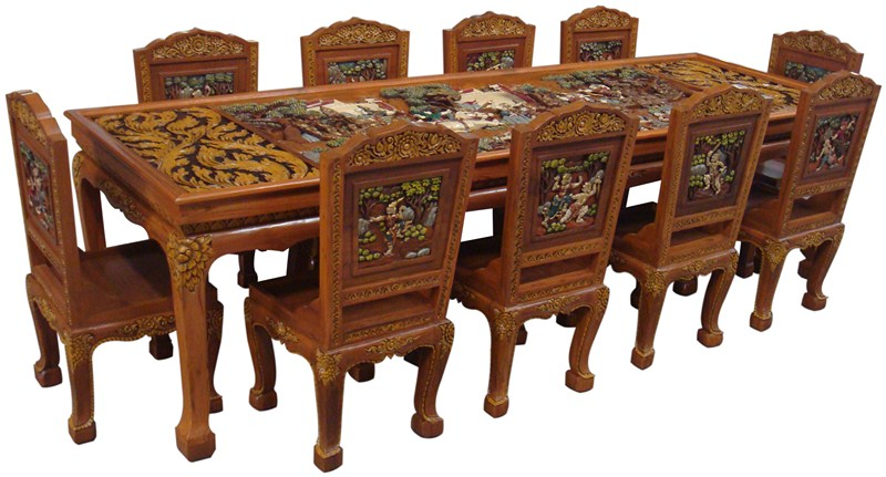 Ramayana teak wood dining table t buy