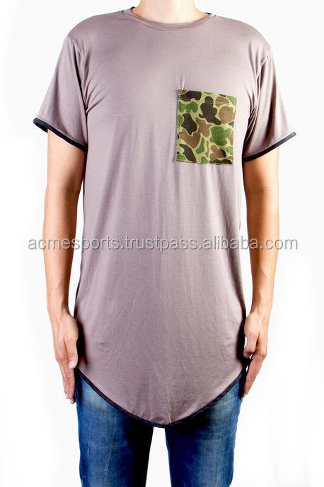 174247b7 Elongated t shirts - 2017 Design big blank tall t shirts, custom men long  tee