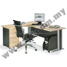 TL1815-D Superior Compact Set, Modern Premium Quality Office Furniture Table Desk Supplier Malaysia