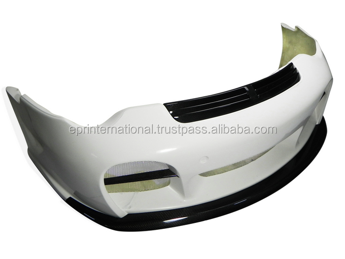 For Porsche 99-01 996 TA-GT Style Fiber Glass Front Bumper Body kit