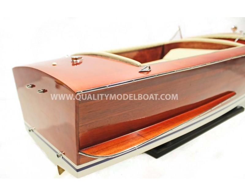 riva sebino houten boot model gemaakt in vietnam kunst. Black Bedroom Furniture Sets. Home Design Ideas