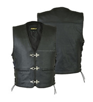 Mens Original Leather Vest Factory wholesale price !!!