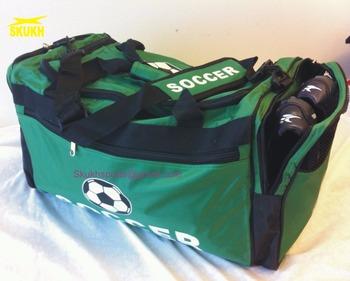 Soccer Duffel Bag Large Adult Sports Shoes Ball Net 60b9fef362e2d
