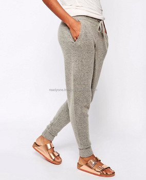 2144d9ff Wholesale fashion women soft jogger sweatpants tapered loose fit joggers