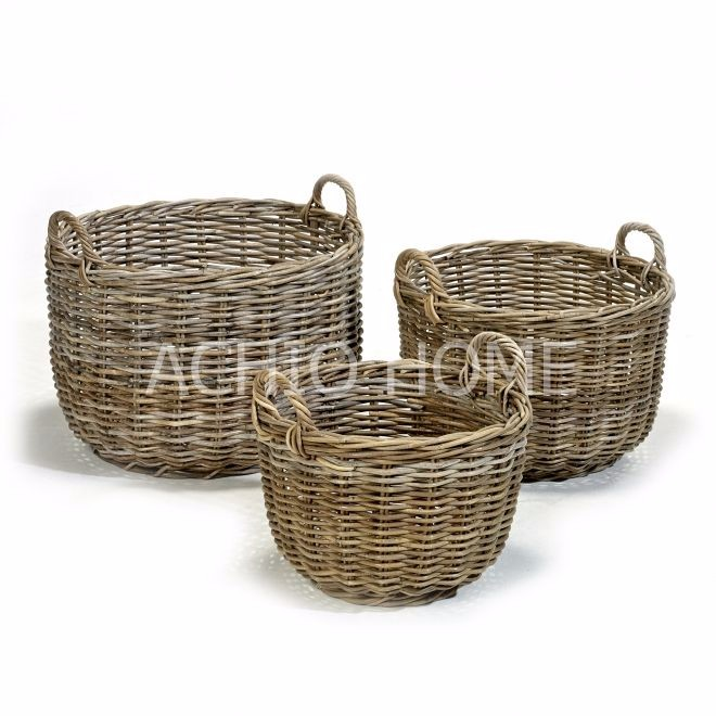 Vietnam Home decorative use rattan storage basket, Home decorative basket