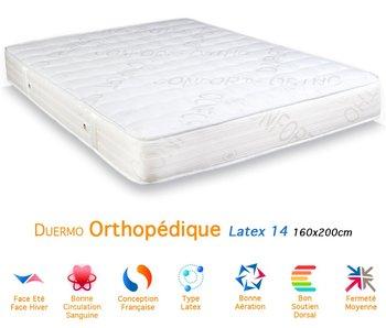 Matelasmatelas Latex Orthopédique épaisseur 14 160x200 Cm Buy