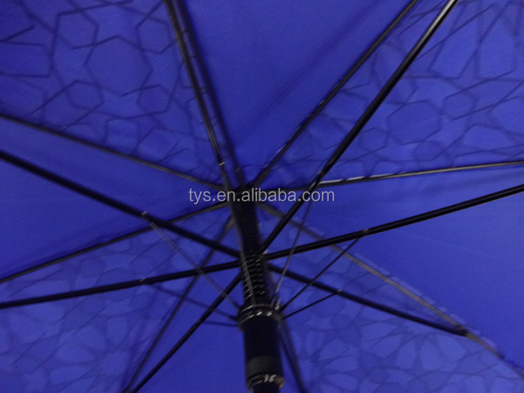 Customized Straight Auto Open Magic Color Changing Umbrella