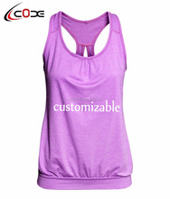 New 2017 Ladies Fitness Ruanning T Shirt Sleeveless Women Yoga Tops Gym Vest Fitness sports T-shirt
