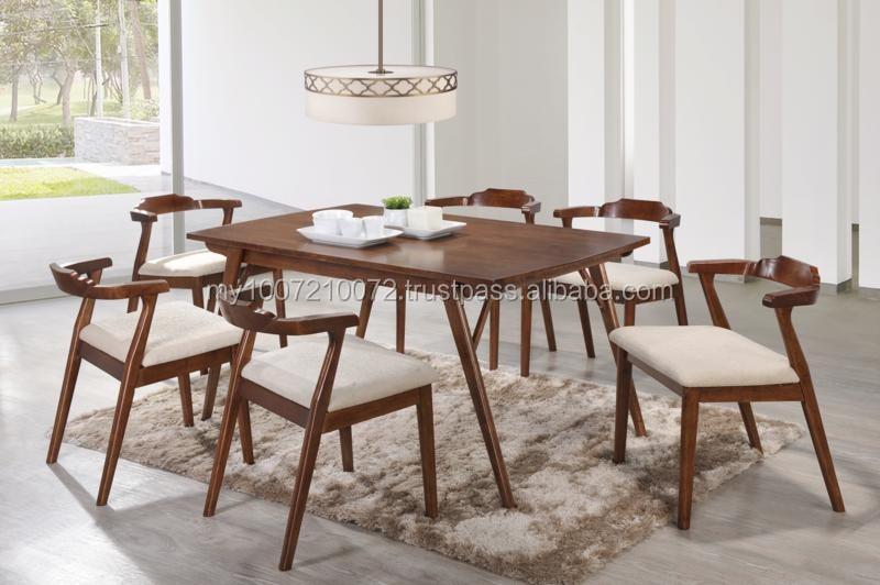 Muebles de madera, Moderno juego de comedor, Mesa comedor y sillas ...